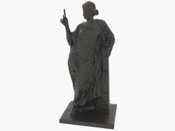 Scultura in bronzo Aphrodite au pilier (2)
