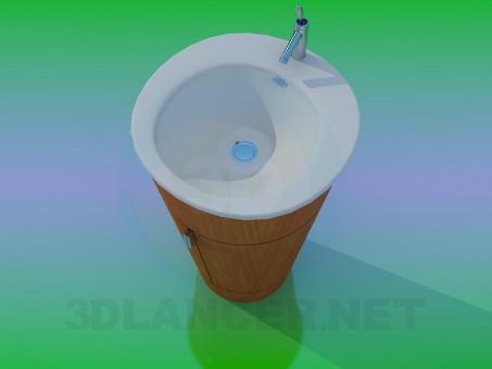 3d modeling Washbasin model free download