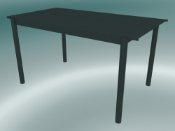 Table Linear Steel (140 cm, Dark Green)