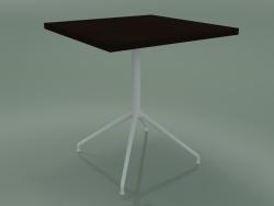 Tavolo quadrato 5754 (H 74.5 - 70x70 cm, Wenge, V12)