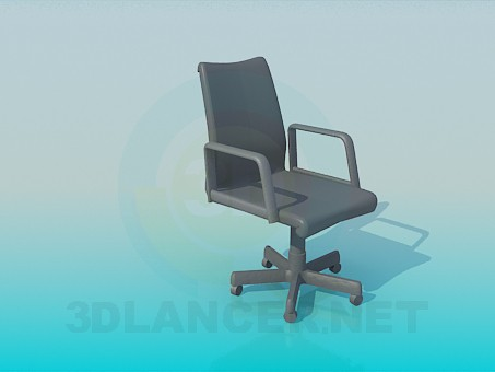 3d моделирование Кресло для офиса модель скачать бесплатно