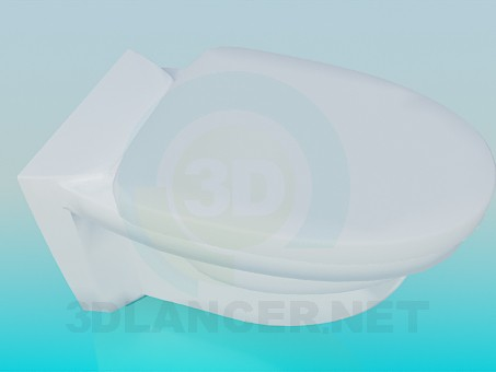 3d model Taza del inodoro - vista previa