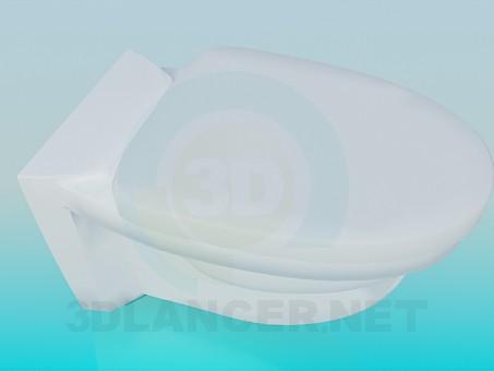3d modeling Toilet bowl model free download