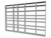 Sistema de mobiliario (rack) FC0904