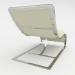 3 डी आर्मचेयर लाउंज मॉडल खरीद - रेंडर