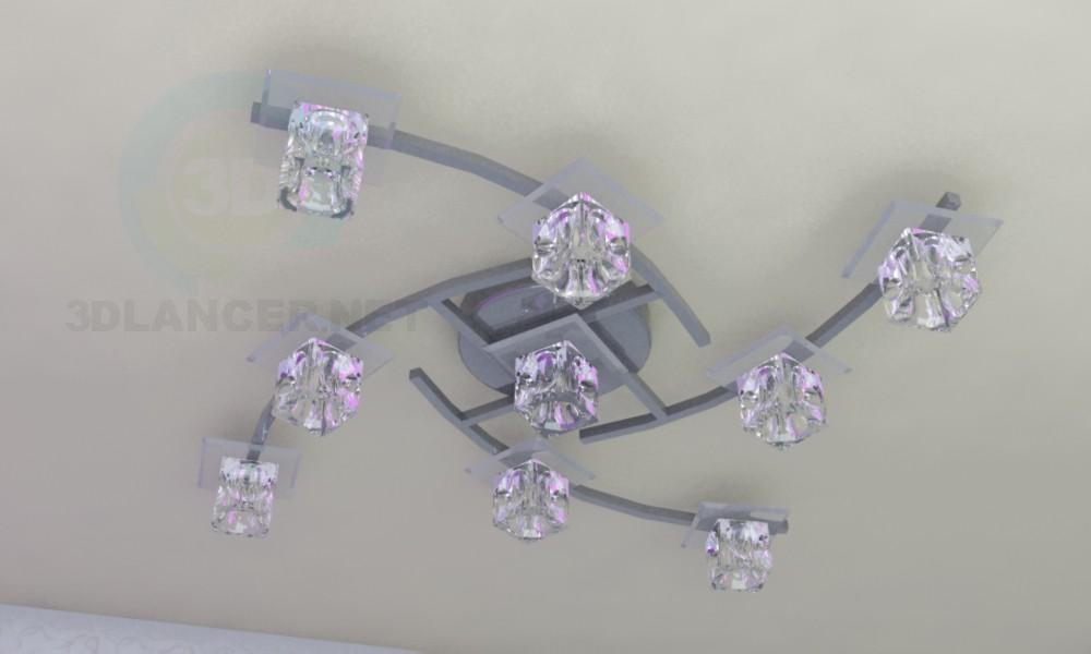 """modelo 3D Lámpara """"Quadra"""" - escuchar"""
