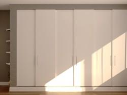 Wardrobe animated 600x4000x2700mm