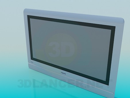 3d модель Телевизор PHILIPS – превью