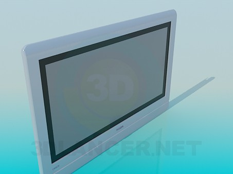 3d model Tv PHILIPS - preview