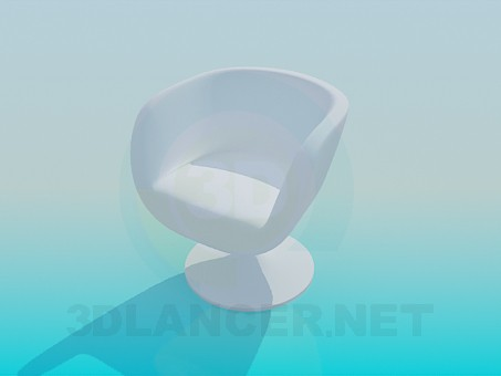 3d model Solid Chair - preview
