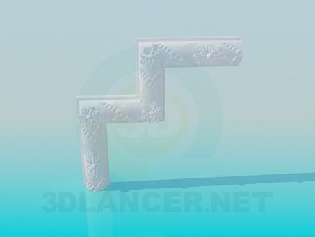 3d model Corner units - preview