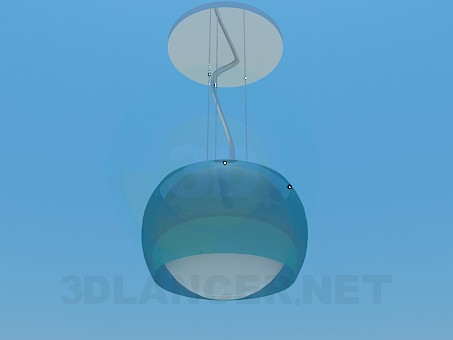 3d model Chandelier for one lamp - preview