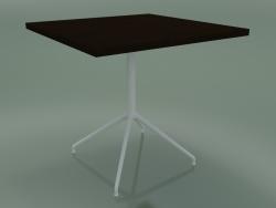 Mesa quadrada 5755 (H 74,5 - 80x80 cm, Wenge, V12)