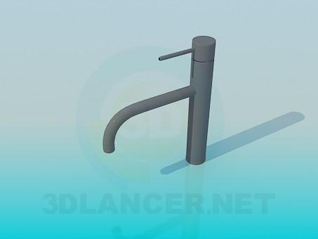 modelo 3D Grifo para fregadero de cocina - escuchar