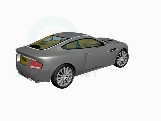3d модель Aston Martin – превью