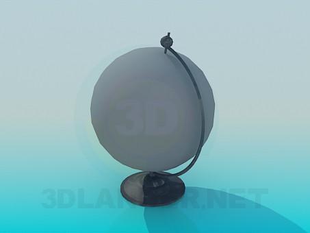 modelo 3D Mundo - escuchar