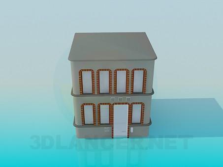 3d модель Будівля – превью