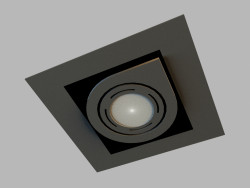 Ceiling recessed lamp 8140