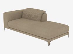Elemento divano modulare Leon (216h105h68)