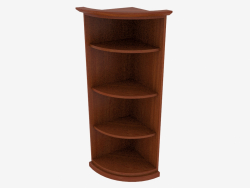 Narrow Corner Shelf (4821-02)