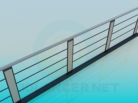 3d modeling Fence model free download
