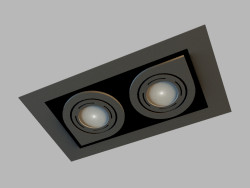 Ceiling recessed lamp 8141