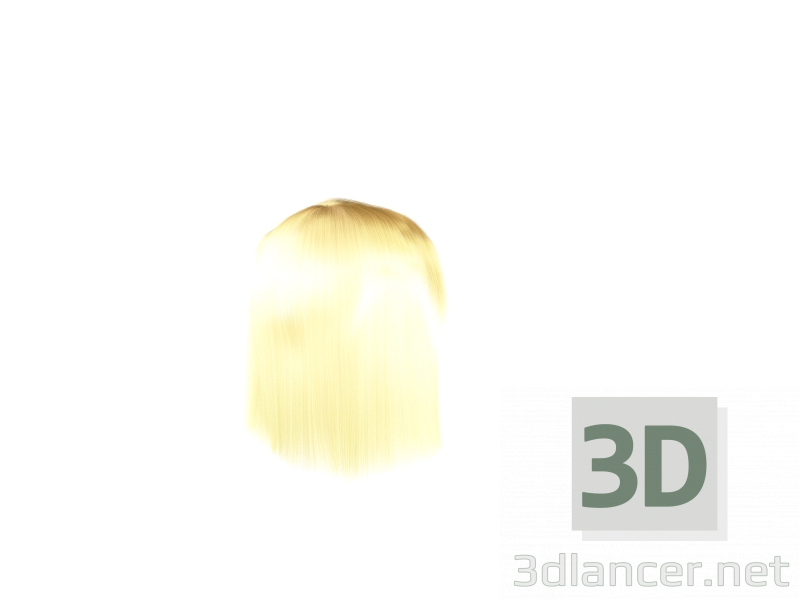 3d Model Hairstyle Download To 3dlancer