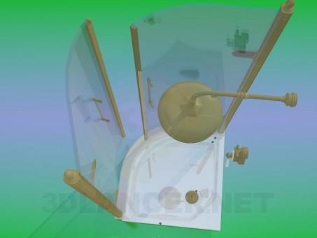 3d модель Душевая кабинка – превью