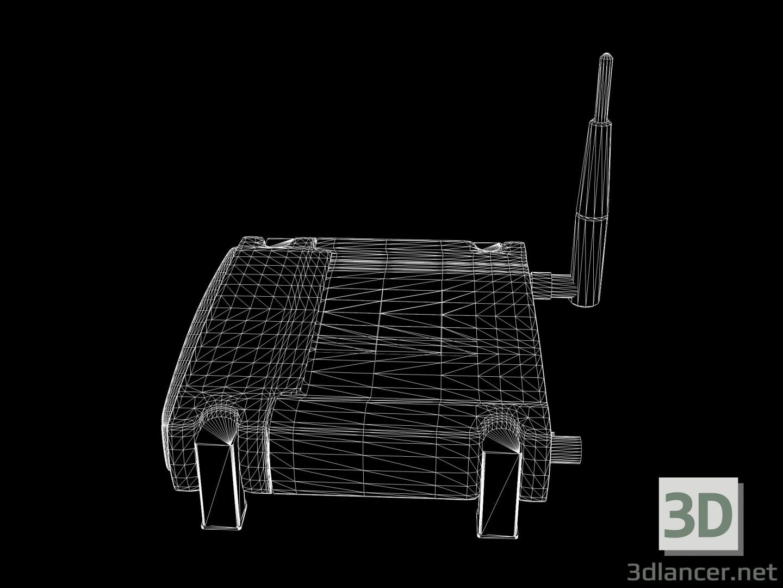 3 डी Linksys वायरलेस राउटर मॉडल खरीद - रेंडर