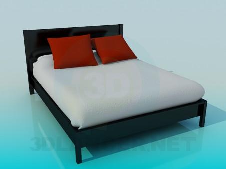 descarga gratuita de 3D modelado modelo Cama