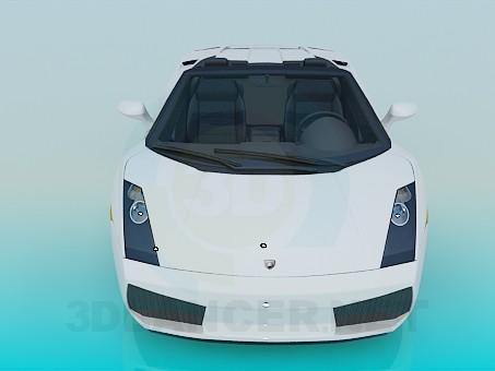 3d model Lamborghini Gallardo - vista previa