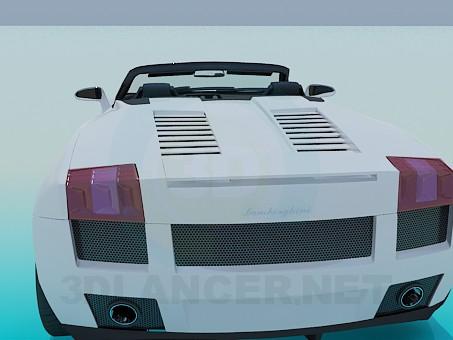 modelo 3D Lamborghini Gallardo - escuchar