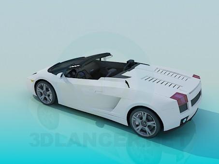 3d модель lamborghini Gallardo – превью