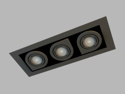 Ceiling recessed lamp 8142
