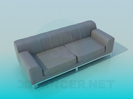 3d modeling Sofa 2-seater model free download