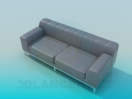 3d model Sofa 2-seater - preview