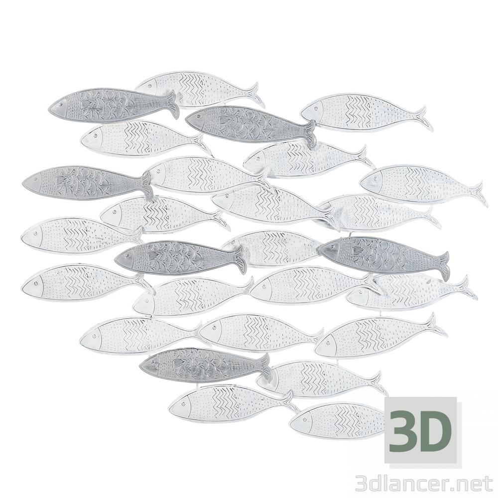 3d model fish - preview
