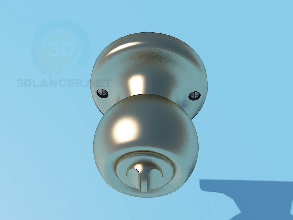 3d model Doorhandle - preview