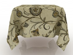 Tablecloth linen animated 1800h1800mm