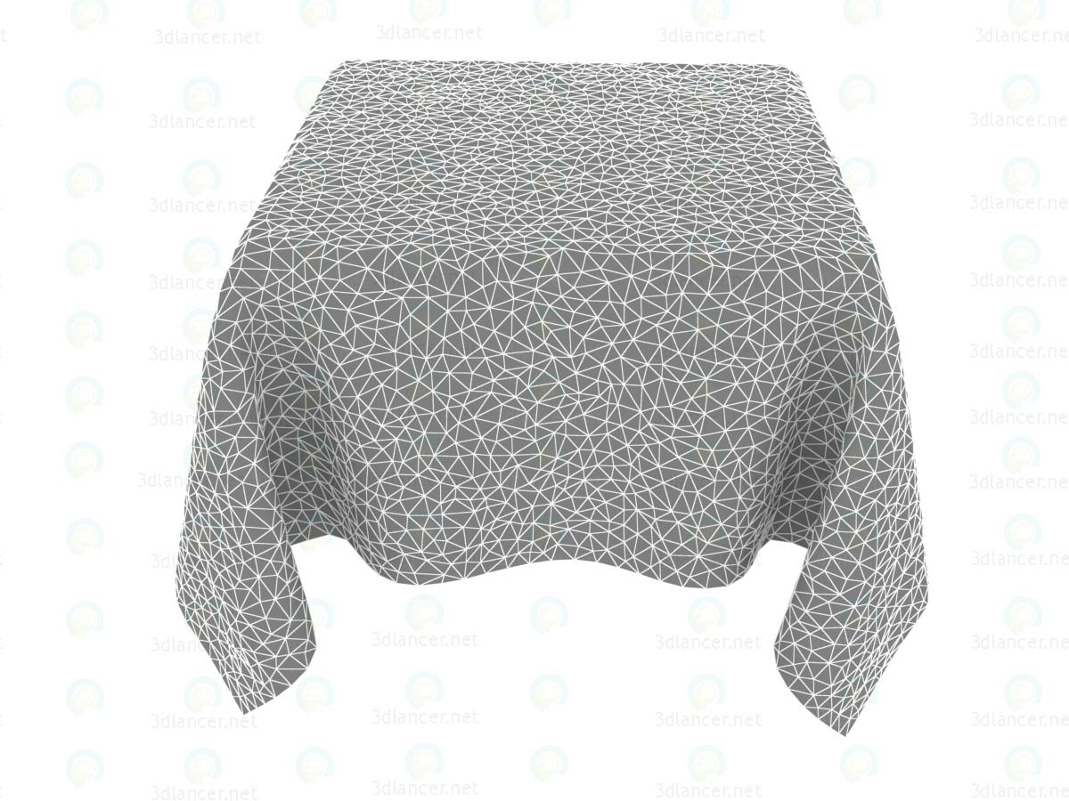 Mantel lino animado 1800h1800mm 3D modelo Compro - render