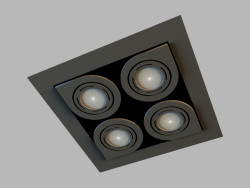 Ceiling recessed lamp 8143