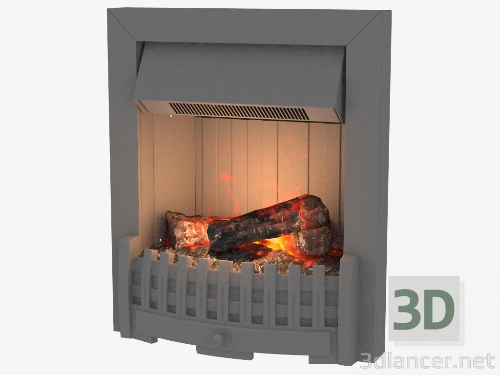 3 डी मॉडल Danville बिजली चिमनी - पूर्वावलोकन