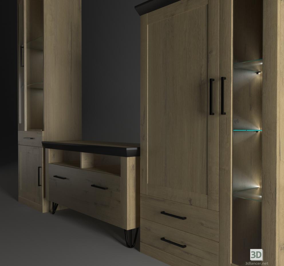 3d model Living Room ANGSTREM MAGNUM 1 - preview