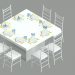 3d model EVENT TABLE WITH DINING SET - preview