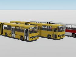 Modificações no ônibus 3 do Ikarus 280