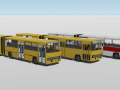 Ikarus 280 bus 3 modifications