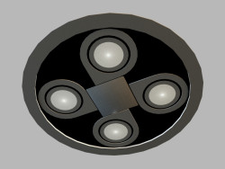 Ceiling recessed lamp 8144