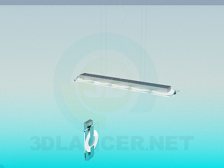 3d моделирование Набор освещения модель скачать бесплатно
