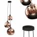 3d Pendant lamp Copper Trio model buy - render