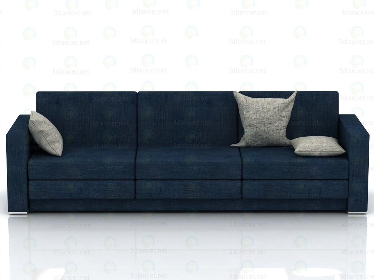 3d model Sofa minimalism 2700h800h800mm - preview